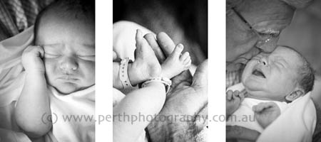 Baby portrait photographers in Perth