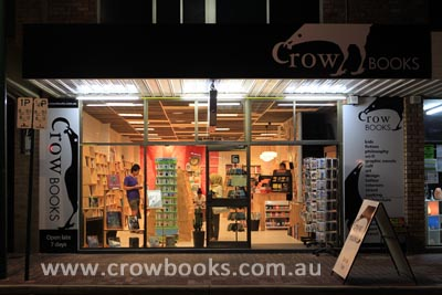 Perth bookshop, Crow Books