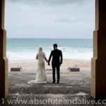 cottesloe beach wedding photos