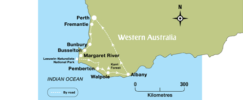 Margaret River Winery region